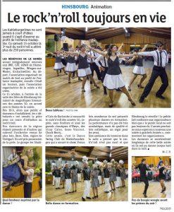 Dance Swing Club Niederhausbergen - Mètre