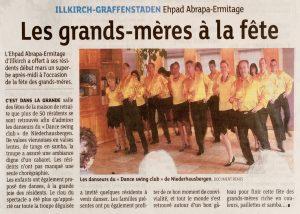Dance Swing Club Niederhausbergen - Association Alzheimer